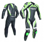 RST Tractech Evo 3 Leather Suit 1 Piece Green